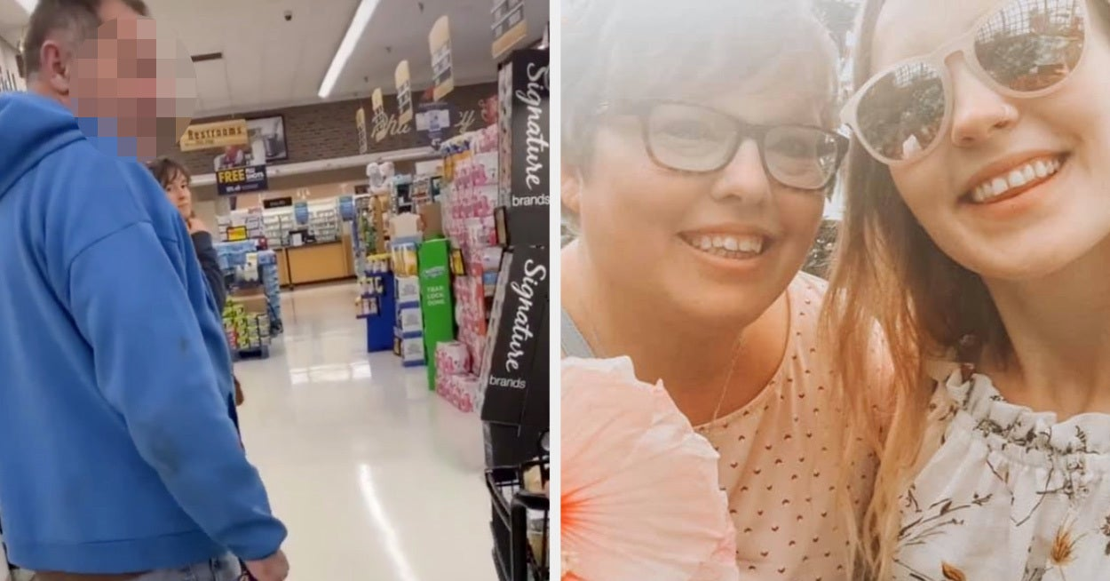 Everyone Needs To See This TikTok Of A Mom Standing Up To A Man Who Was Creeping On Her Daughter