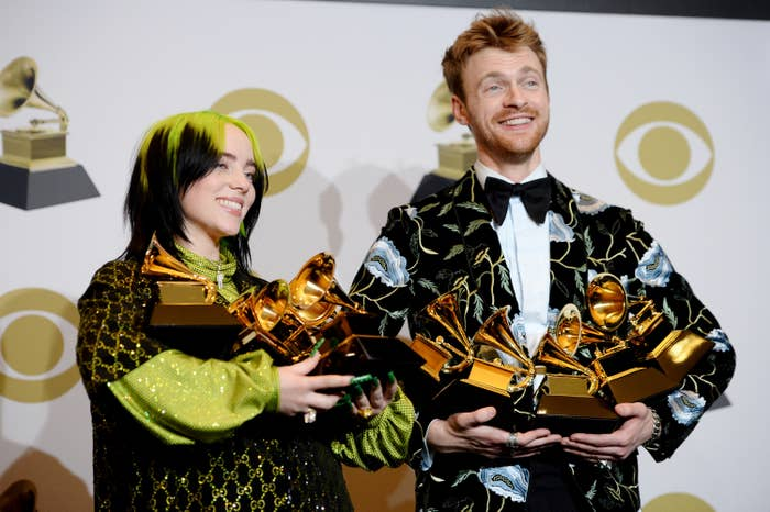 Finneas Revealed He And Billie Eilish Were Embarrassed About Their Grammy Wins