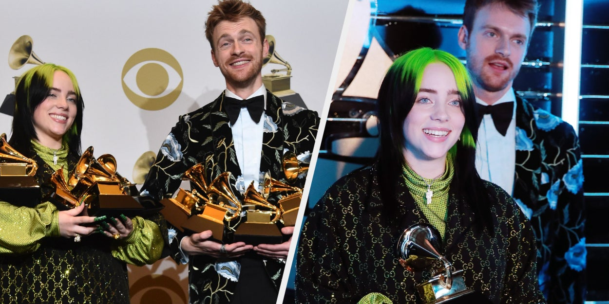 "Finneas Revealed He And Billie Eilish Were ""Embarrassed"" About Their Grammy Wins"