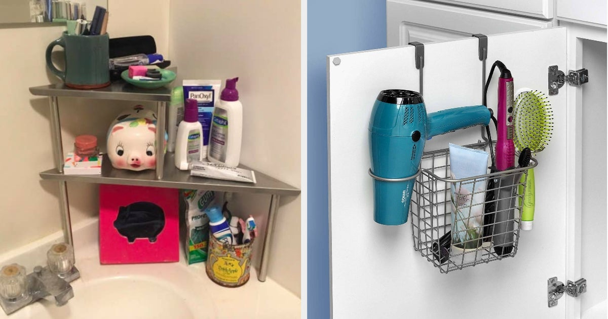21 Products Everyone With A Tiny Bathroom Will Probably Want To Know About