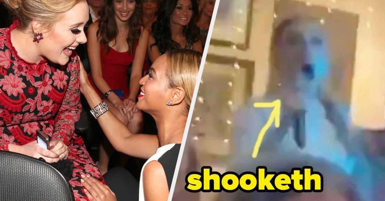"""Adele's Reaction To Hearing Beyoncé's """"Crazy In Love"""" At A Friend's Wedding Is Too Pure"""