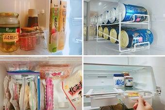 置くだけで冷蔵庫すっきり!収納力を爆上げするアイテムがめちゃ便利
