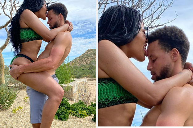 People Are Making Fun Of Steph And Ayesha Curry's Vacation Photo And I'm Not Here For It