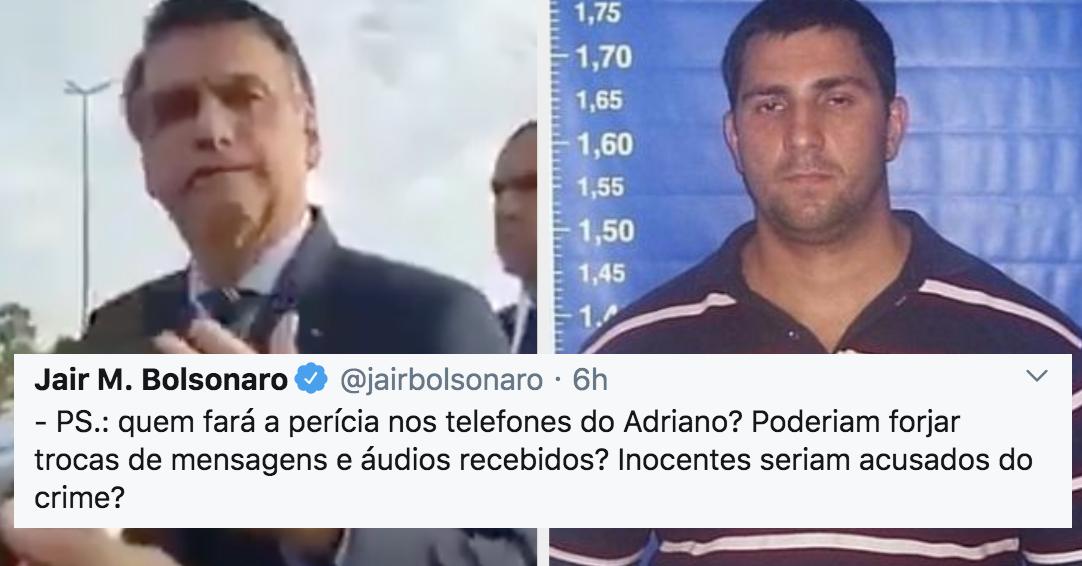 Como Bolsonaro difamou sexualmente uma jornalista e tirou o foco sobre celulares de miliciano morto