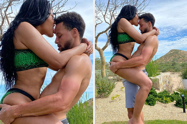 People Are Making Fun Of Steph And Ayesha Currys Vacation Pic And Im Not Here For It
