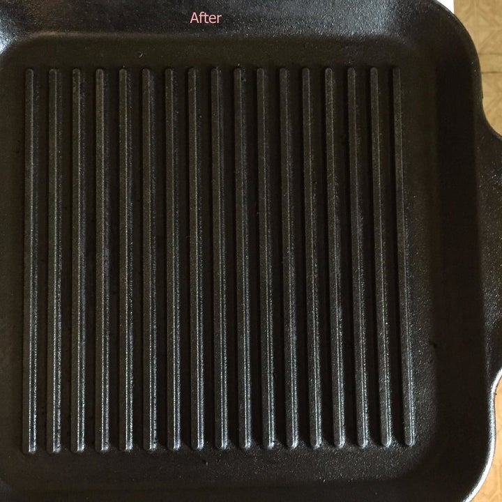 The same cast iron pan clean