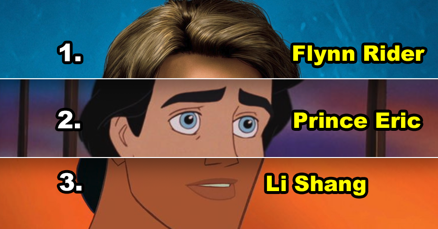 Build A Disney Prince And We'll Tell You When You're Getting Married
