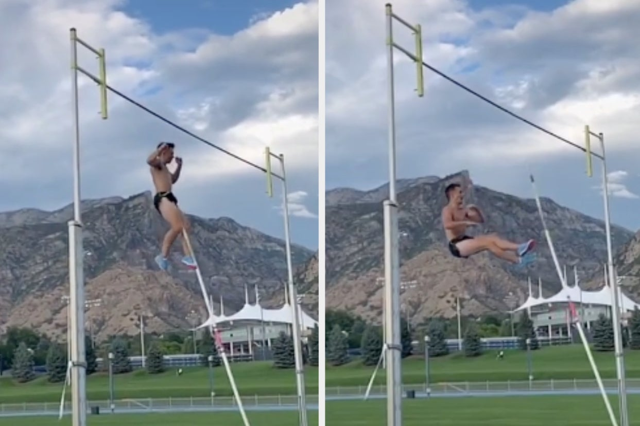 This College Athletes Pole Vault Impaled His Balls And The Whole Thing Is On TikTok
