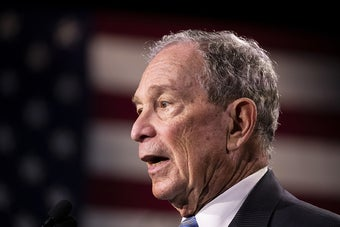 """Mike Bloomberg Once Again Called Transgender People """"It"""" And """"Some Guy Wearing A Dress"""""""