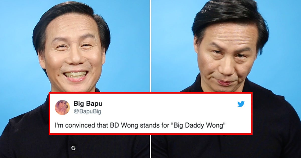 BD Wong Read Your Thirst Tweets And Yes, It's As Hilarious As It Sounds