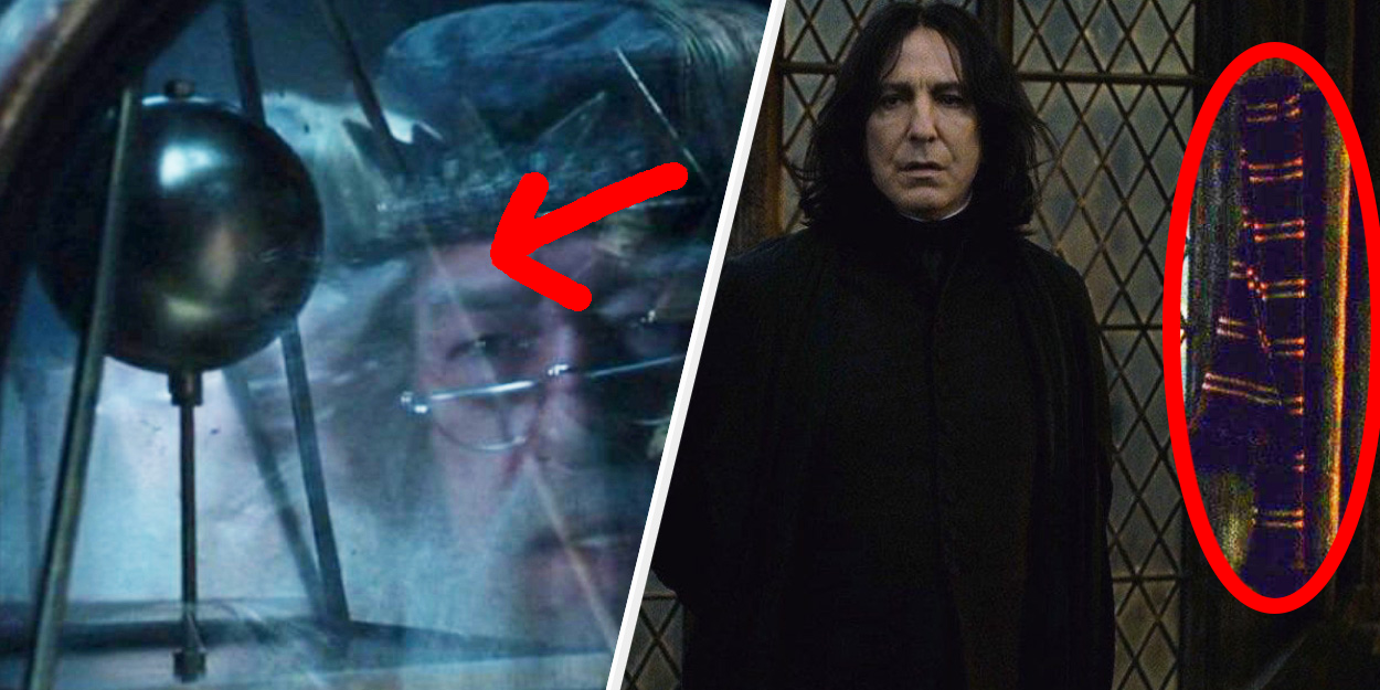 "17 Tiny Details From The ""Harry Potter"" Movies That You Probably Missed"