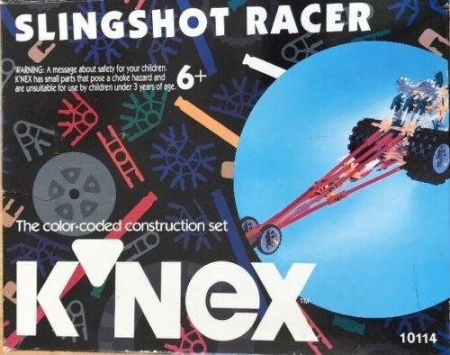 The box for the K'Nex Slingshot Racer