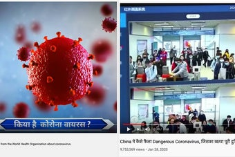 India Is In The Middle Of A Coronavirus YouTube Frenzy, And It's Going To Get People Killed
