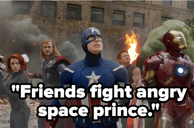 Here's A Five Word Description Of A Marvel Movie. Can You Identify Which One It Is?