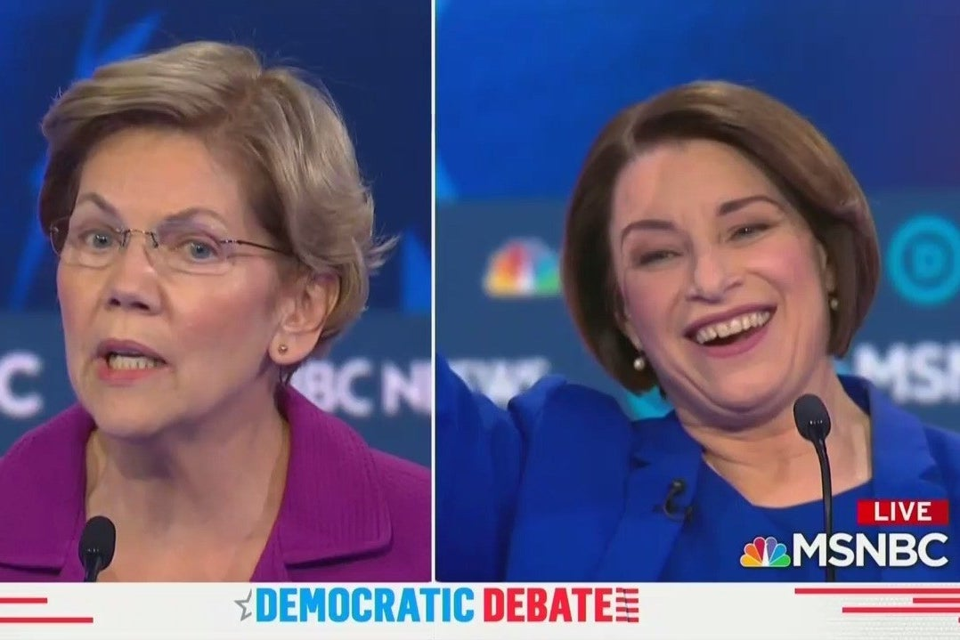 The Most Vicious Attack Lines From The Democratic Debate In Nevada