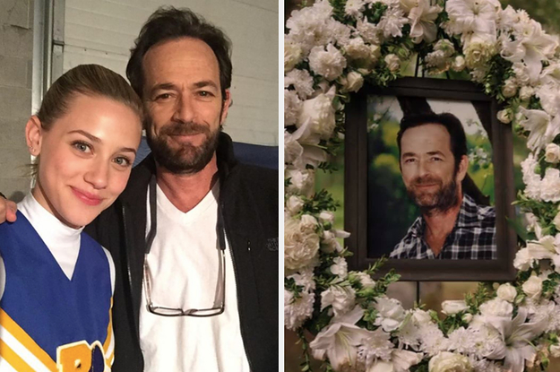 Lili Reinhart Just Shared A Dream She Had About Luke Perry, And It's Incredibly Touching