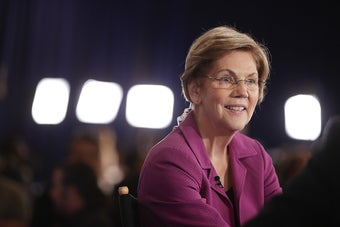 Elizabeth Warren Put Herself At The Center Of The Primary Again In Wednesday's Debate