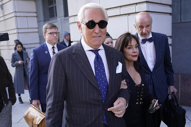 Trumps Close Ally Roger Stone Was Sentenced To Prison For Three Years