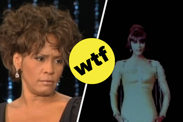 Whitney Houston's Hologram Looks Like A Creepy Version Of Casper The Friendly Ghost, And I'm Terrified
