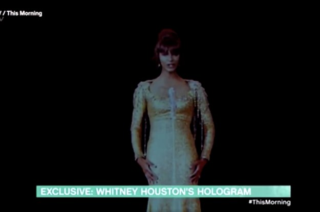 Whitney Houston's Estate Just Released Images Of Her Hologram And A Lotta People Will Be Scared