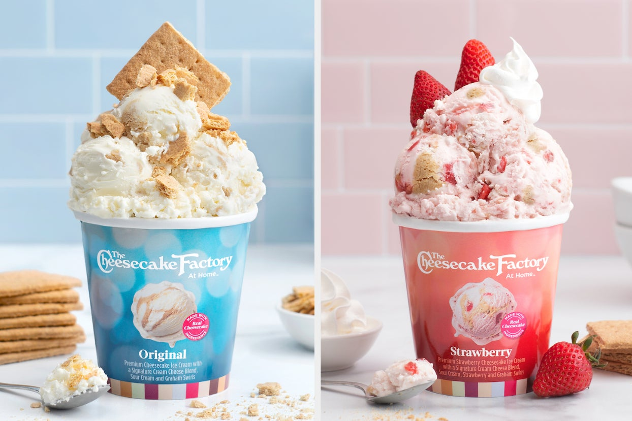 The Cheesecake Factory Is Making Actual Cheesecake Ice Cream And It Sounds So Good