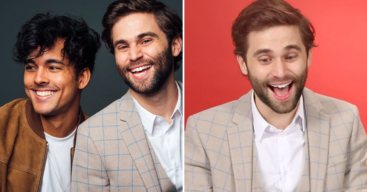 """The Thing About Harry"" Stars Jake Borelli And Niko Terho Found Out If They Are Actually Sam Or Harry"