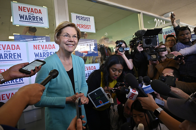 """Elizabeth Warren Has Reversed On Super PAC Support: """"That's How It Has To Be"""""""
