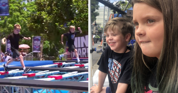 """We Visited The Set Of """"American Ninja Warrior Junior"""" And Do We Have Stories"""