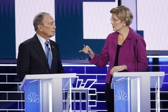Warren And Klobuchar Immediately Went After Bloomberg For His Past Sexist Comments At The Debate
