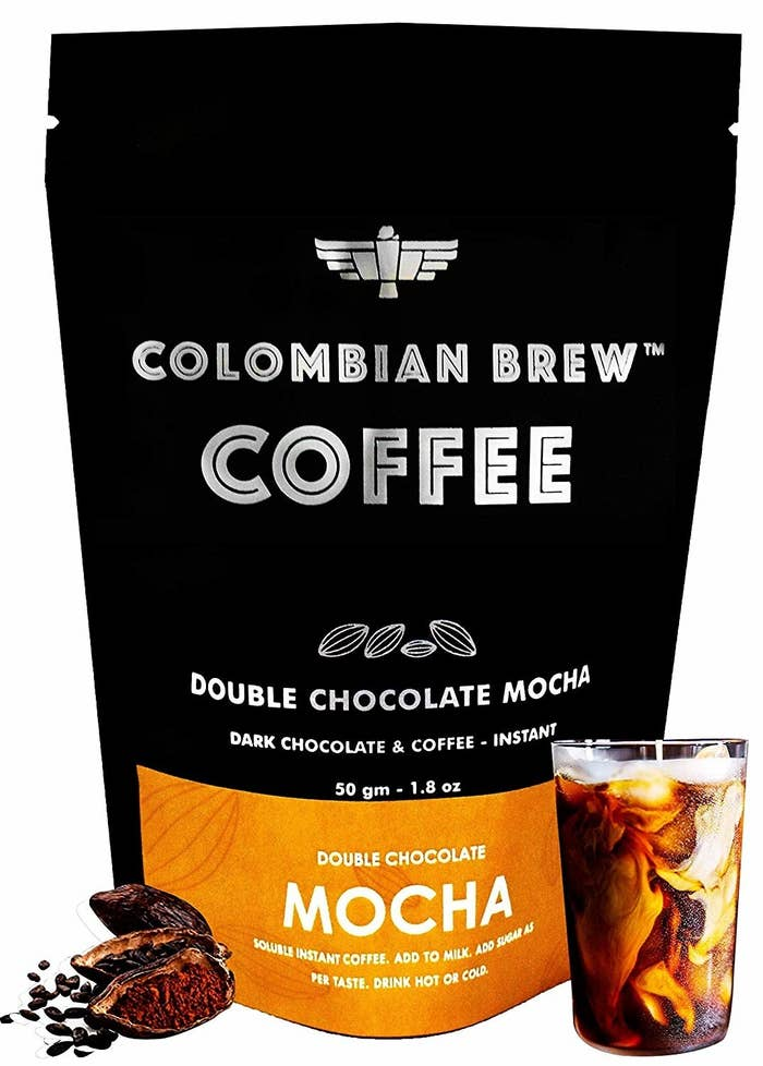 Packaging of the mocha