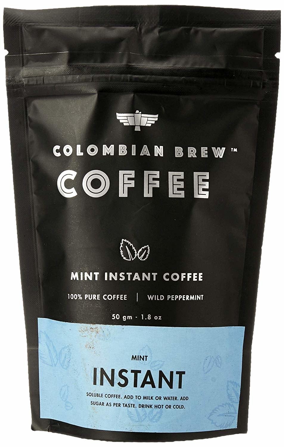 Packaging of the coffee
