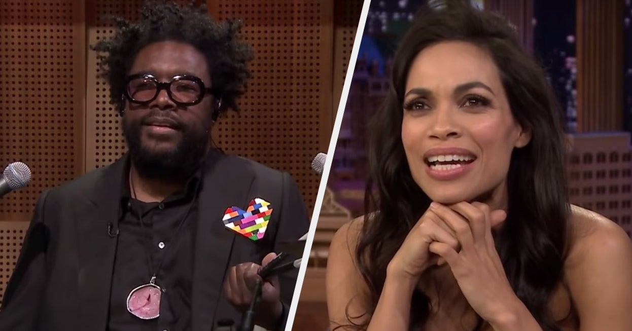 Questlove Tweeted About Going On A Date With Rosario Dawson And She Denied It Ever Happened