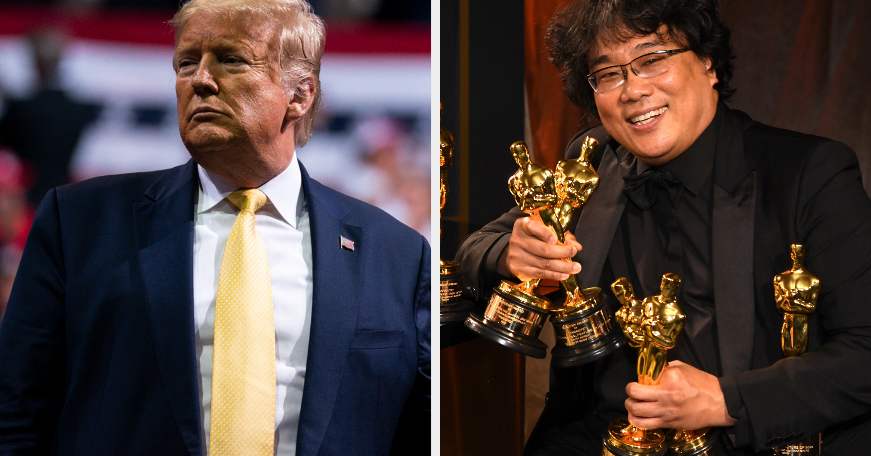 """Trump Criticized The Oscars For Awarding Best Picture To """"Parasite,"""" A South Korean Movie"""
