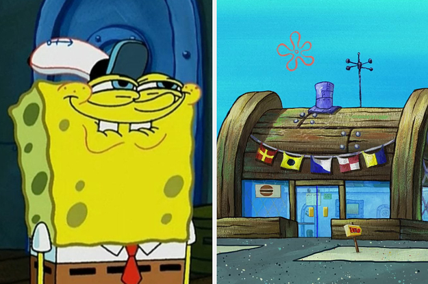 """Sorry, But Only A """"Spongebob Squarepants"""" Super Fan Has Enough Knowledge To Get Hired At The Krusty Krab"""