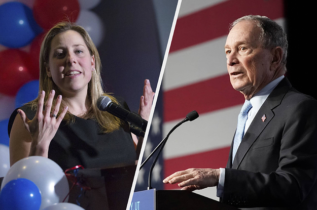 This Democrat Tried To Oust A Republican From Congress. She Blames Michael Bloomberg For Her Loss.