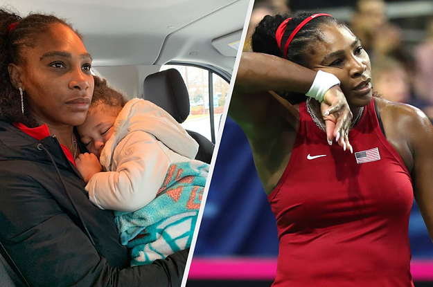 Serena Williams Opened Up About Being A Working Mom And Used An Unedited Photo That Needs To Be On Every Billboard
