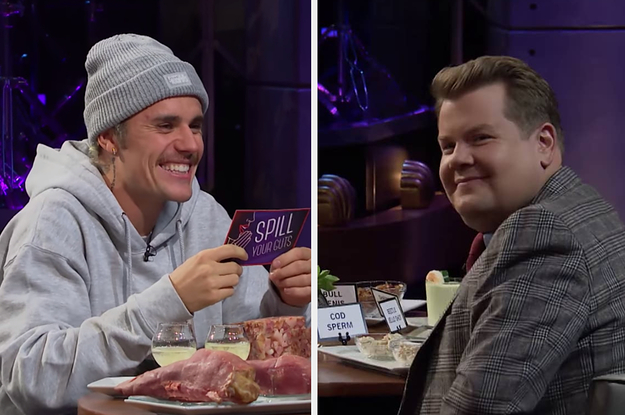 Justin Bieber Asked James Corden If He Regrets Doing 'Cats' And His Response Is Actually Sweet