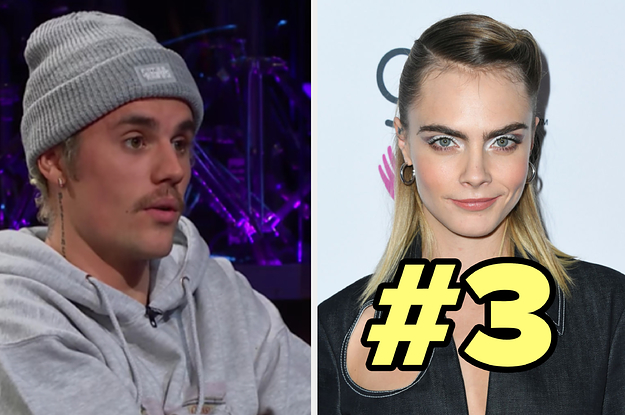 Justin Bieber Ranked His Wife's Famous Friends, It Pissed Cara Delevingne Off, And Then She Called Him Out For Blocking Her