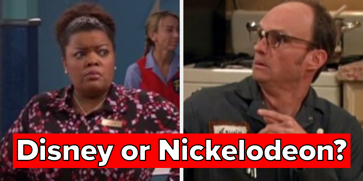 Sorry, This Disney Vs. Nickelodeon Character Quiz Is Impossible If You're Under 20