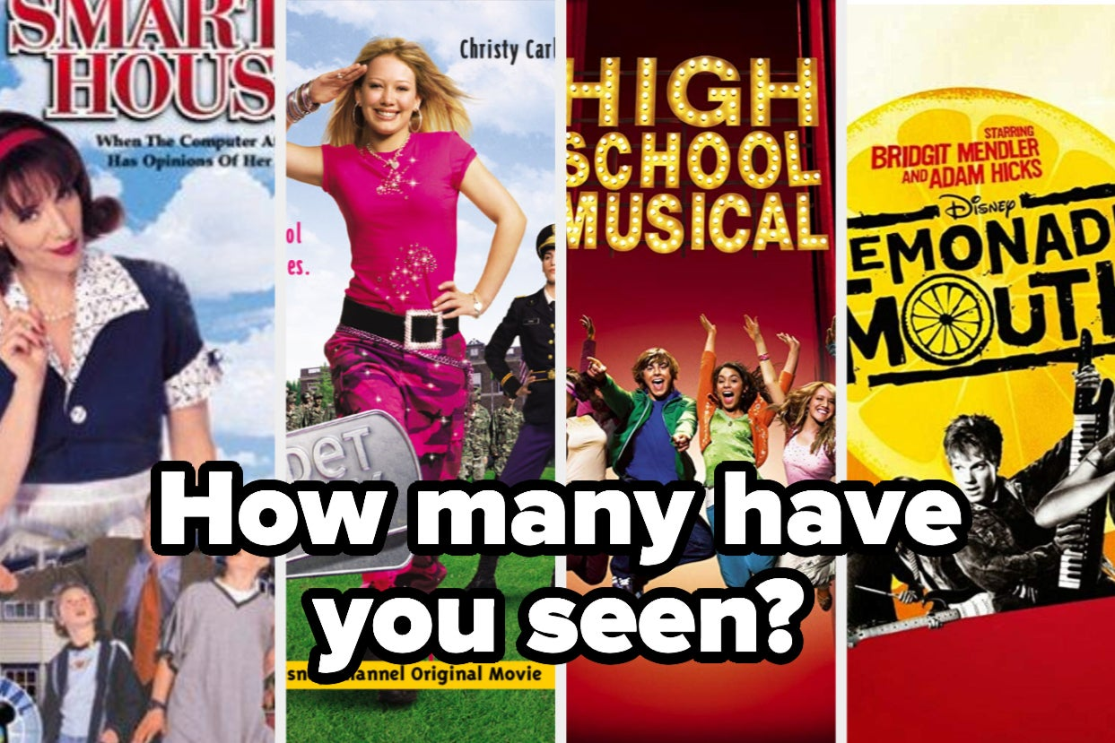 Most People Haven't Seen More Than Half Of These Disney Channel Original Movies Have You?
