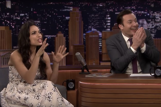 Rosario Dawson Denied Going On A Date With Questlove, And I'm Cringing At Their Awkward Exchange