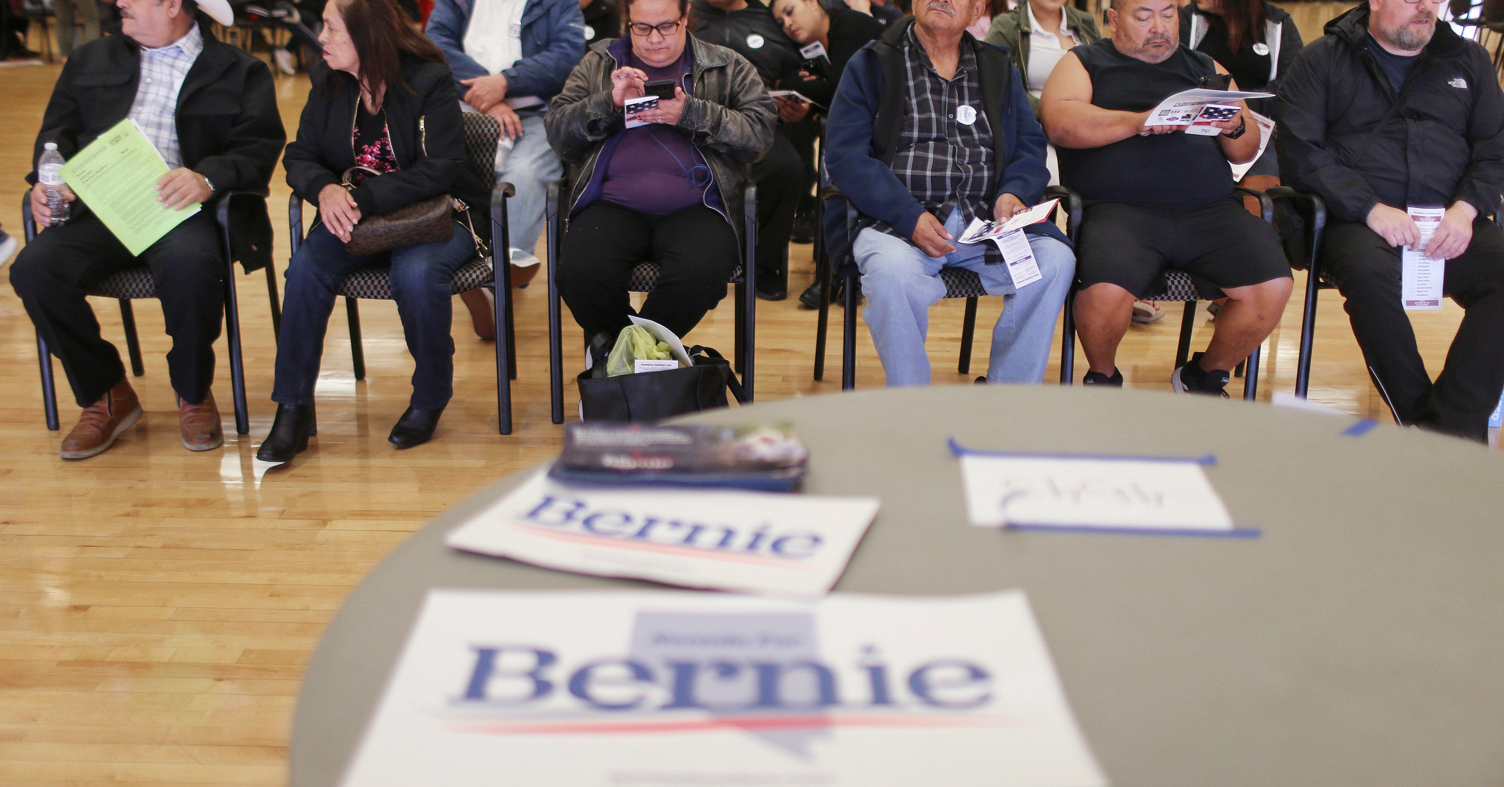 Members Of Nevada's Largest Union Defied Their Leadership To Support Bernie Sanders