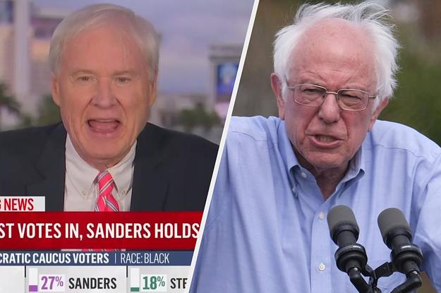 MSNBC's Chris Matthews Compared Bernie Sanders' Nevada Performance To The Nazi Invasion Of France