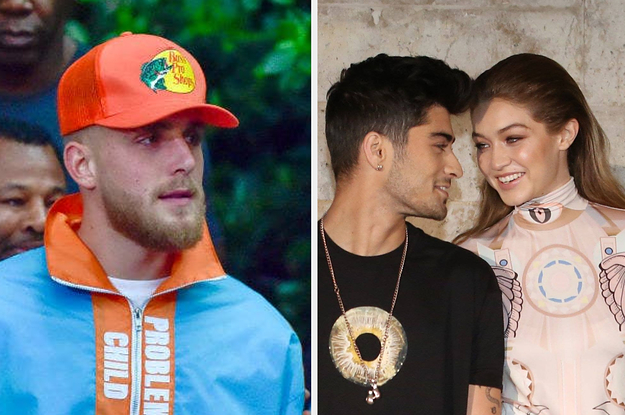 "Gigi Hadid Called Jake Paul ""Irrelevant"" After He Claimed Zayn Malik Tried To Start A Fight With Him"