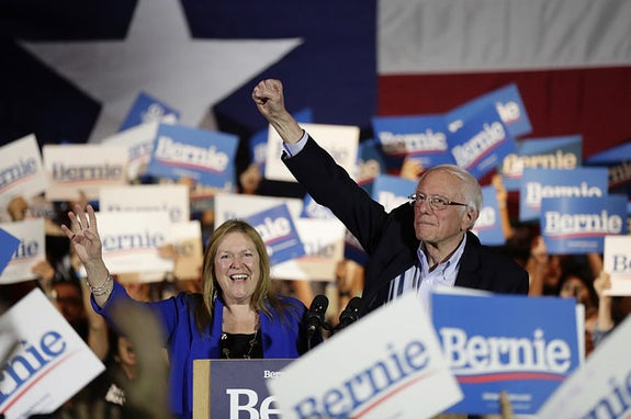 Bernie Sanders Won Nevada. In 10 Days, He Could Make It Very Hard For Anyone To Catch Up.