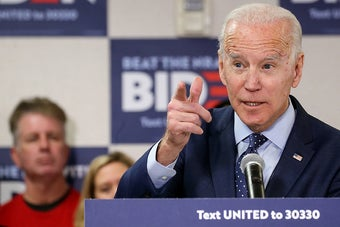 Joe Biden's Betting On Voters Of Color To Win. In Nevada, He Still Lost.