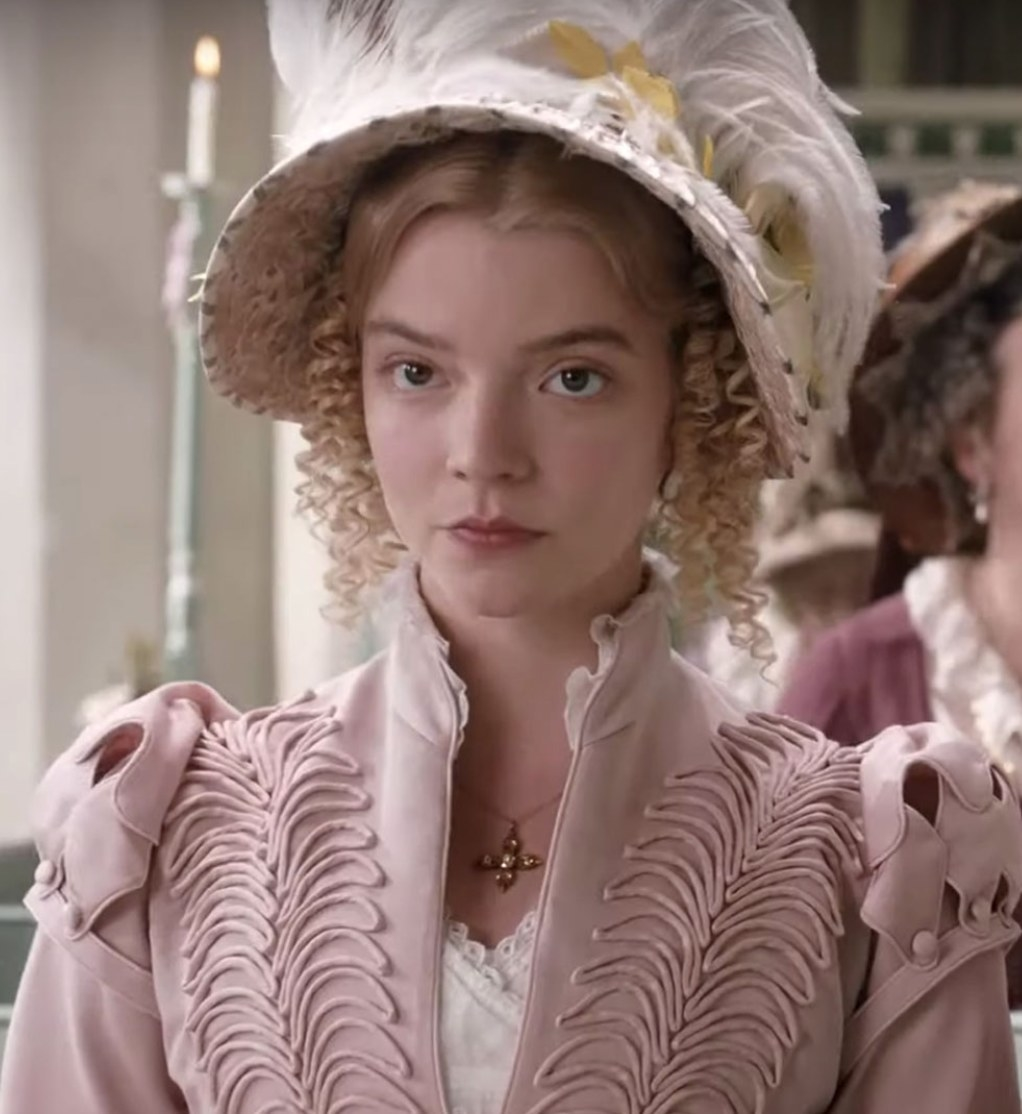 Image result for pictures of anya taylor-joy as emma
