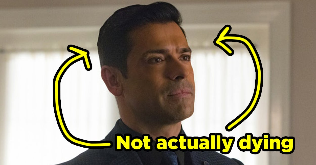 "Hiram Lodge Isn't Actually Dying On ""Riverdale,"" And Here's Why"