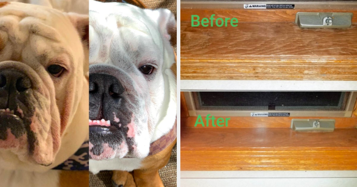 29 Products With Satisfying Before-And-After Photos