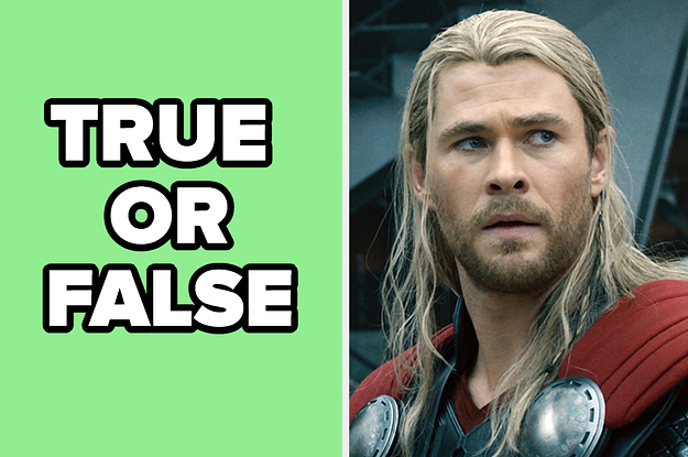 "Only Real Marvel Fans Will Be Able To Pass This ""True Or False"" Quiz"